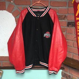 Vtg. Steve & Barry's Ohio State Varsity Jacket XXL
